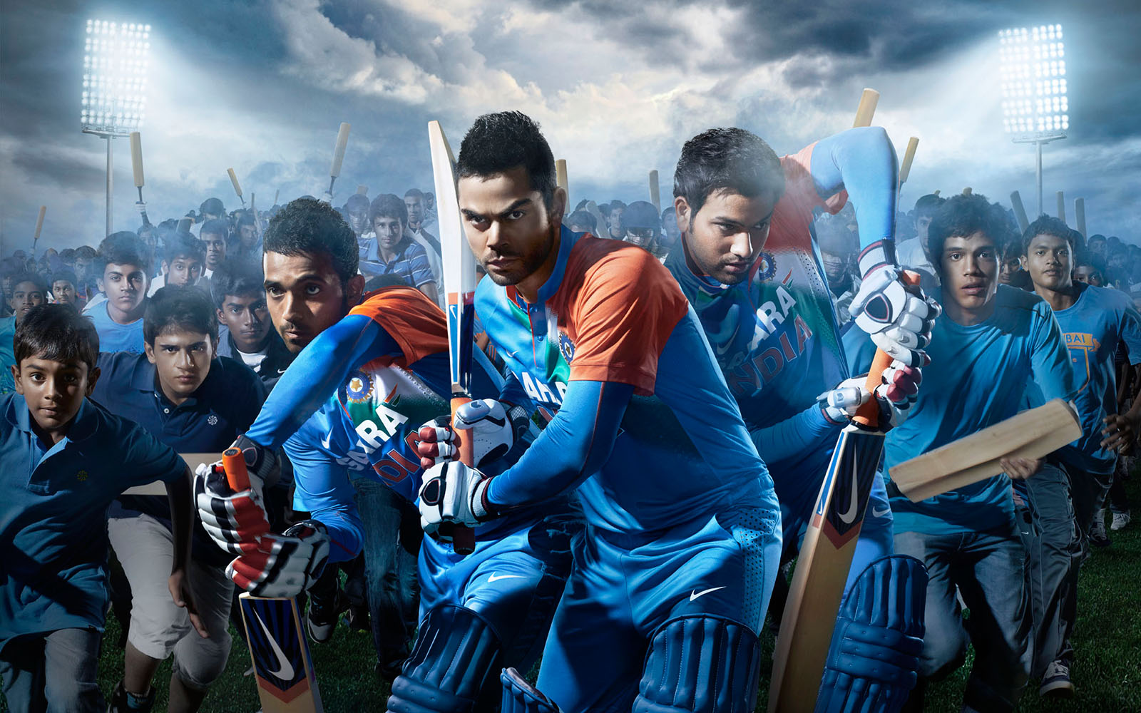 """Indian Cricket Hd Wallpapers: NIKE """"CRICKET I"""" / Client: Nike India / Agency: Nike HQ"""