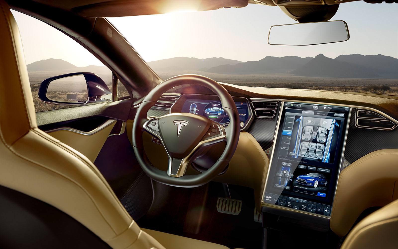 Tesla Model S Interior Ii Staudinger Franke Photography Post
